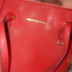 ☆Michael Kors Saffiano Leather Tote Bag  ☆MINT!
